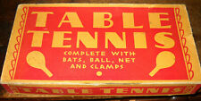 VINTAGE TABLE TENNIS BRAND NEW PING PONG SET NIB