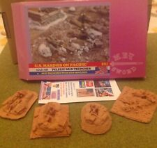 Soldatini 1/72 WWII US MARINES ON PACIFIC, PELELIU MUD TRENCHES -  BUM