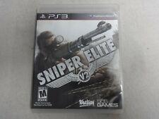 Sniper Elite V2 Sony Playstation 3 PS3 Game Complete Free Ship