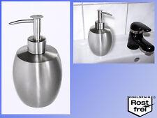 conception en acier inoxydable Distributeur de savon (affiné), 380ml
