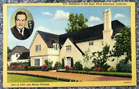 Home of Bob Hope - North Hollywood, California - Vintage Postcard