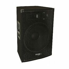 "Cheap Ibiza DISCO15AMP 15"" 3 Way Active Speaker 800w"
