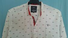 GANT USA Men's Long Sleeve Button Front White Shirt Size - 4XL - Very good cond.