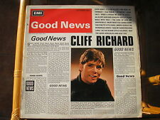 "CLIFF RICHARD - GOOD NEWS - 12"" LP - Columbia SX 6167"