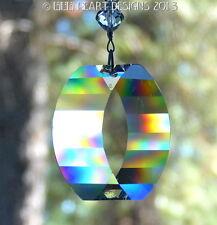 m/w Swarovski Energy Gate Fung Shui All the Way Sun Catcher Lilli Heart Designs