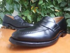 Church's Rechard Men's Black Leather Penny Loafers Shoes Sz US 6 UK 5 G
