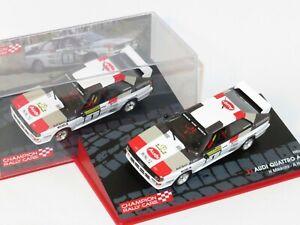 1/43 Audi Quattro A2 Audi Sport Rally 1000 Lakes Finland 1983  H.Mikkola/A.Hertz