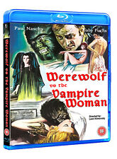 WEREWOLF VS THE VAMPIRE WOMAN (1971, Naschy) BluRay