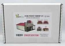 Bandua BAI0100056 Far West Shop #1 (Prepainted) Terrain Old Western Building NIB
