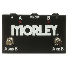 Morley ABY Selector Combiner Switch AB Box New Pedal Footswitch