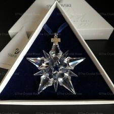 RARE Retired Swarovski Crystal 2001 Christmas Snowflake Ornament 267941 Boxed