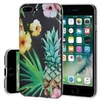 Soft Gel Premium TPU Graphic Skin Case Cover for iPhone 7 plus - Tropical