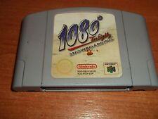 1080 Snowboard diez ochenta NINTENDO 64 N64 PAL juego Rápido Post