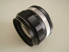 Objectif KONICA HEXANON 1,4/57mm pour appareil photo reflex KONICA...BOKEH !