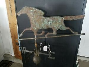 Nice Horse Weathervane with great patina