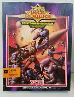Buck Rogers: Countdown to Doomsday (Commodore 64, 1990) Tested & Working