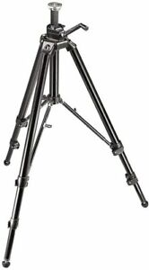 Manfrotto 475B Pro Geared Tripod Without Head Black 00583