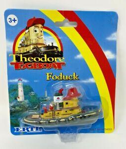 ERTL THOMAS TRAIN THEODORE TUGBOAT FODUCK #34003 NIP RETIRED