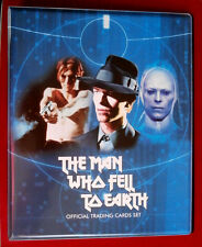 DAVID BOWIE, The Man Who Fell To Earth - Base Set + Official Trading Card Binder