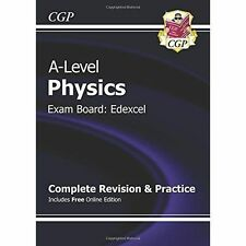 New A-Level Physics: Edexcel Year 1 & 2 Complete Revision & Practice with Online