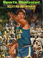 1972 (Mar.6)  Sports Illustrated Magazine, basketball, Bill Walton, UCLA ~ Fair