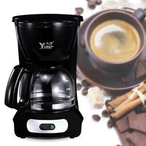 600ML Electric Coffee Maker Machine Automatic Drip Filter Espresso Tea 650W 220V