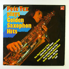 """12"""" LP - Pete Tex - Plays Golden Saxophone Hits - B3945 - washed & cleaned"""