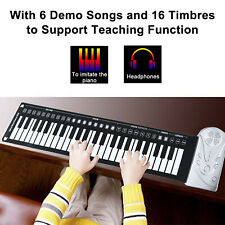 49 Key Roll Up Keyboard Piano Portable Soft Elastic Electronic Music Key Piano
