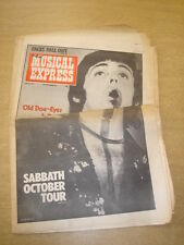 NME 1975 JULY 26 PAUL MCCARTNEY BLACK SABBATH FACES ROD STEWART DAVID ESSEX