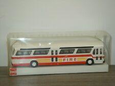 Amerikanischer Bus Fishbowl F.D.N.Y. - Busch 1:87 in Box *44539