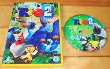 RIO 2 DVD ~ KIDS ANIMATED MOVIE ~ JESSE EISENBERG ANNE HATHAWAY BRUNO MARS ~ R2