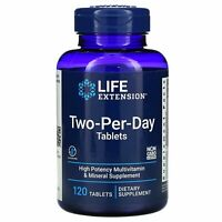 Life Extension: Zwei-pro-Tag-Tabletten, 120 Tabletten