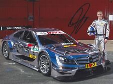 DAVID COULTHARD Mercedes F1 Foto 4 15x20 orignal signiert IN PERSON Autogramm