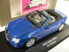 1/43 Minichamps MB SL Klasse jaspisblau Industrie 696 2250