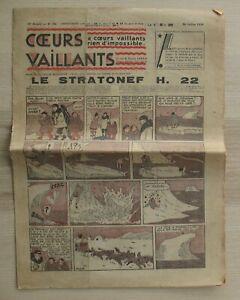 Journal Coeurs Vaillant - 24 Juillet 1932 - N° 30 - Tintin Hergé Stratonef H.22