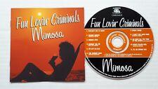 FUN LOVIN' CRIMINALS - Mimosa      1999 CD ALBUM