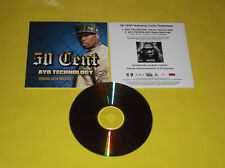 "CD SINGLE PROMO 50 CENT FEAT JUSTIN TIMBERLAKE ""AYO TECHNOLOGIE"""
