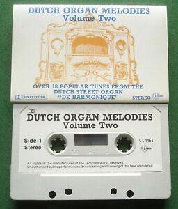 Dutch Organ Melodies Vol. 2 Street Organ de Harmonique Cassette Tape - TESTED