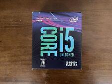 New listing Intel Core i5 8600K 3.6 Ghz Lga 1151 Hexa-Core Processor