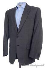 CORNELIANI CC Solid Gray 100% Wool Blazer Sport Coat Jacket - EU 52 / US 42 R