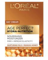 L'oreal Paris Age Perfect Hydra-Nutrition Day Cream Nourishing Moisturizer 1.7oz