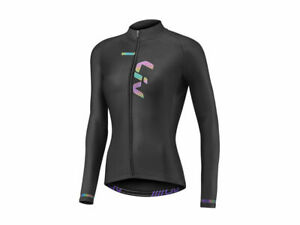 LIV Race Day mid-Thermal Long Sleeve/Long Sleeve Women's Jersey Black New