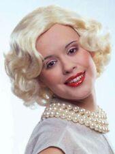 Perücke Marilyn blond Locken Karneval Fasching