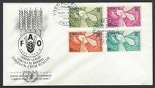 Haiti 1963 Freedom From Hunger FFH FDC