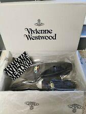 Vivienne Westwood Orb Mocassin Mens Black Size UK 10 / Euro 44 Shoes RRP £180