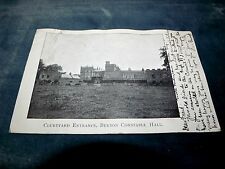 1904 Courtyard Entrance, Burton Constable Hall North Frodingham Early Postcard