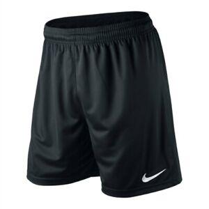 NIKE BLACK FOOTBALL SHORTS - MENS SMALL MEDIUM LARGE EXTRA LARGE S M L XL XXL