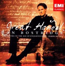 "New! IAN BOSTRIDGE ""Great Handel"" (CD 2007) Bicket Royal **SEALED** cut in spine"