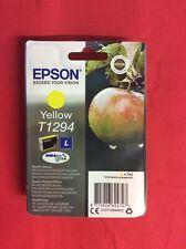 Genuine EPSON T1295 Apple Yellow 7ml Ink Cartridge