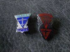 More details for two scarce fairey aviation co ltd enamel badges.